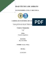 RESUMEN circuitos megneticos