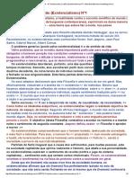 para a Justiça Social - A Filosofia contra a razão (Existencialismo) N°1 _ filosofiaxauteriana.novelablog.com