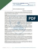 COMUNICADO- COMPLEJO EDUCATIVO CABRERA