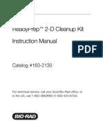 ReadyPrep 2-D Cleanup Kit Instruction Manual (Bio-Rad)