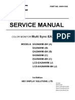 NEC_MultiSync_EA294WMi_Series_Service_Manual
