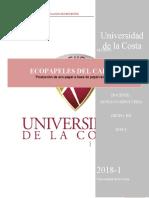 ECO-PAPELES DEL CARIBE - EVALUACIÓN DE PROYECTOS