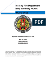 La Fire Expl Boyd St May 16 2020