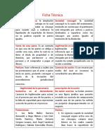 Ficha Técnica de clase civil y bienes