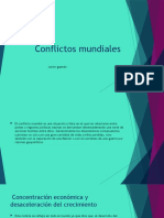 Conflictos mundiales m