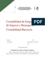 Contabilidad de Seguros y contabilidad bancaria 2020