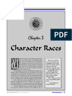 Chapter 3 - Character Races