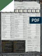 DW - Character Sheet