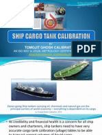 Ship Tank Calibration
