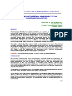ENG Designing Motivational Learning Systems In Distance Education[#176525]-156290.pdf