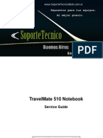 Service Manual -Acer Travel Mate 510sg