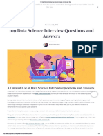 109 Data Science Interview Questions and Answers _ Springboard Blog