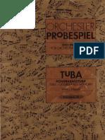 Orchester Probespiel Tuba-Kontrabasstuba