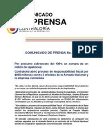 Acciones de la Contraloría por irregularidades durante la cuarentena