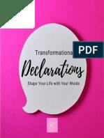 Declarations Series