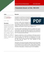 Biblioteca Senado (2019) Las ITS en Chile, 1982-2018