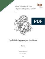 Qualidade Seguranca e Ambiente - Instituto Politécnico do Porto