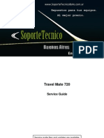 Service Manual -Acer Travel Mate 720sg