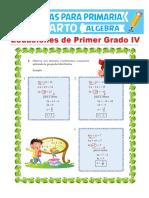 Ecuaciones-de-Primer-Grado-con-Signos-de-Agrupación-para-Cuarto-de-Primaria