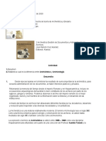 Arhivistica y Archivologia