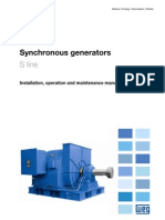 WEG Synchronous Generator s Line Manual English
