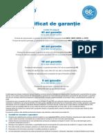 Certificat garantie Lindab
