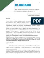 PATOLOGIA EM PONTES