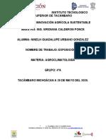 u5.Modelos de La Relacion Cultivo Clima y Estimacion de Rendimientos