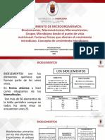 5. CRECIMIENTO DE MICROORGANISMOS Concepto de crecimiento microbiano.pptx