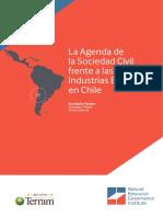 La Agenda de La Sociedad Civil Frente a Las Industrias Extractivas en Chile Fundación Terram