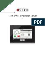 CZoneTouch5UserInstallationManualv1.1