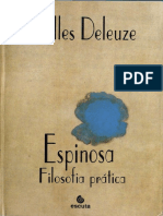 Gilles Deleuze - Espinoza - Filosofia Prática