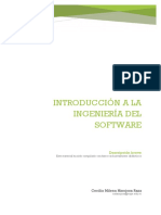 Introducción Ingeniería de Software