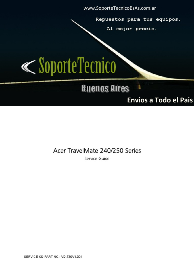 service manual acer travel mate 240 250 cd rom bios rh scribd com acer travelmate 240 service manual pdf Driver for Acer TravelMate 4000