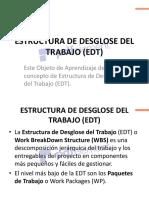 12. Estructura del Desglose del Trabajo