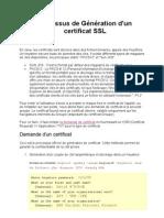 SSL_Génération