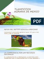 PLANIFICCION AGRARIA DE MEXICO