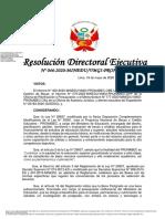 202005 - RDE N°. 046-2020 - Beca Presidente de la República