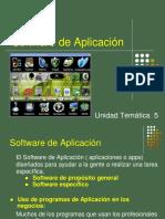 Unidad 5 - Software app-Presentación