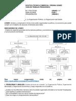 GUIA 2  LA ORGANIZACION ECONOMICA Y POLITICA