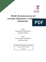 TDAH Revision teorica del concepto, diagnostico, evaluacion y tratamiento.pdf