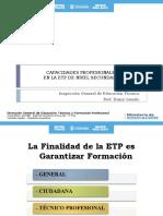 CAPACIDADES PROFESIONALES EN LA ETP DE NIVEL SECUNDARIO 2