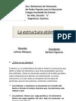 La Estructura Atómica. Definitivo