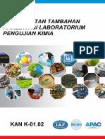 KAN K-01.02  Persyaratan Tambahan Akreditasi Laboratorium Pengujian Kimia (5)