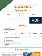SISTEMAS DE ILUMINACION EFICIENTES