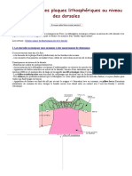 La divergence des plaques lithosphériques au niveau des dorsales.pdf