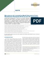 Sampathkumar Proteins-StructFunctBioinform 2010a