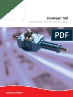 Catálogo del actuador LHS