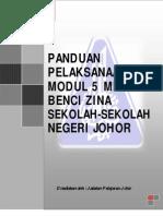 Modul 5 Minit Benci Zina Sekolah Negeri Johor