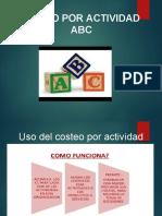 ACTIVIDAD DE COSTOS ABC